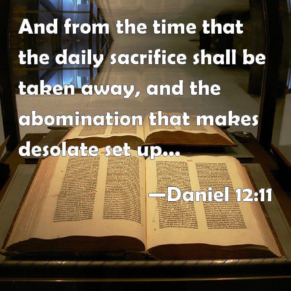 daily sacrifice