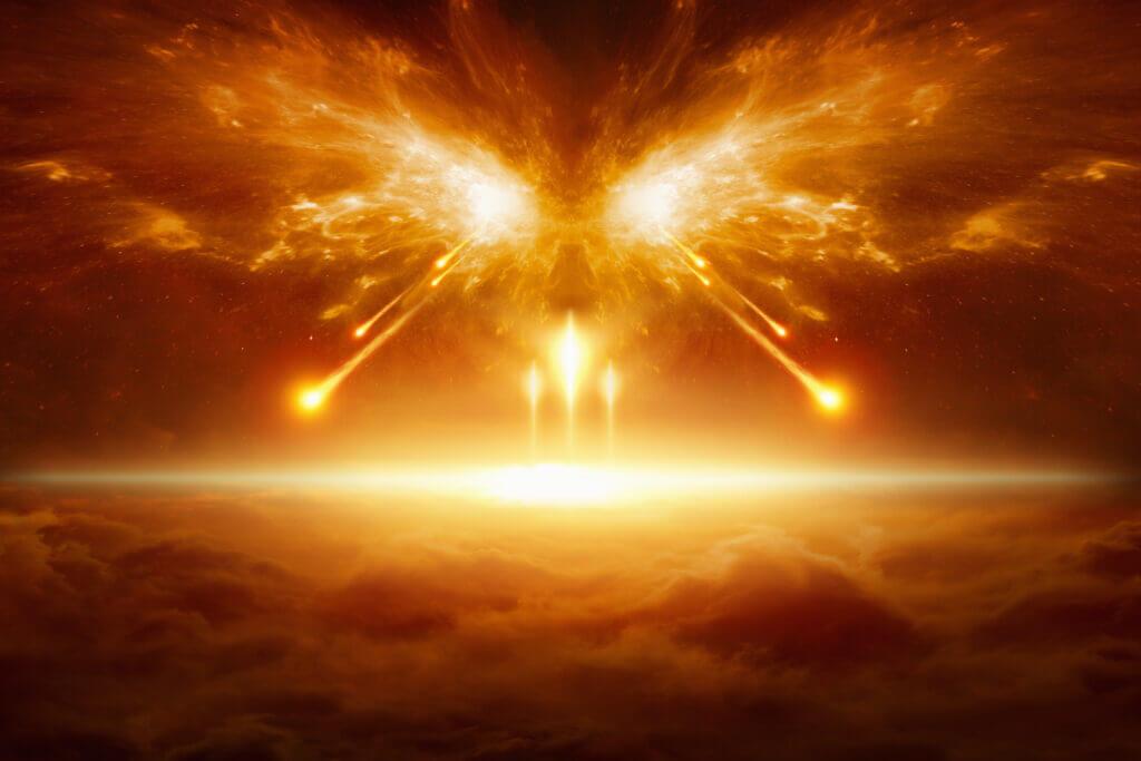War between God and Satan